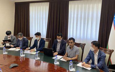 Встреча с делегацией Республики Кореи